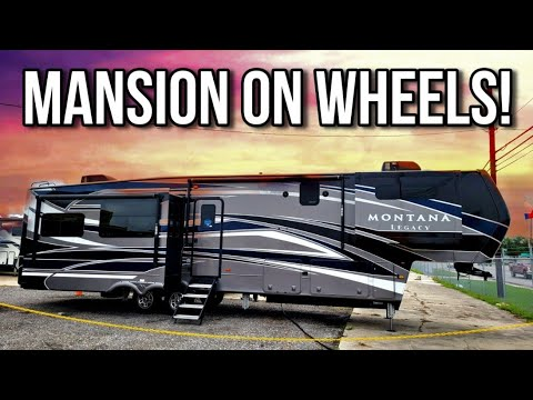 Download This Montana Legacy fifth wheel RV will BLOW YOU AWAY! 3781RL