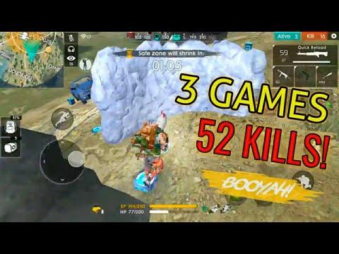 Solo Vs Squad Ranked Montage Garena Free Fire Youtube