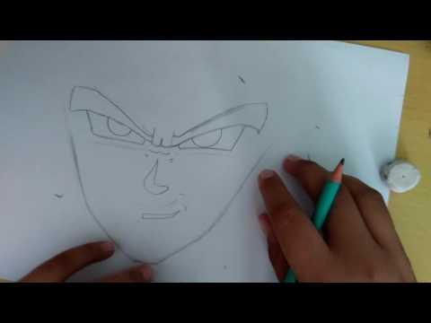 Tutorial como desenhar o Goku Black