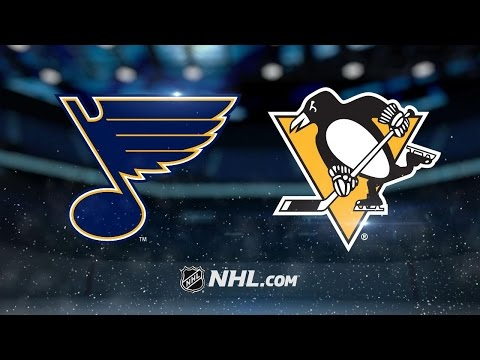 Hutton, Blues shut out Penguins for 3-0 win