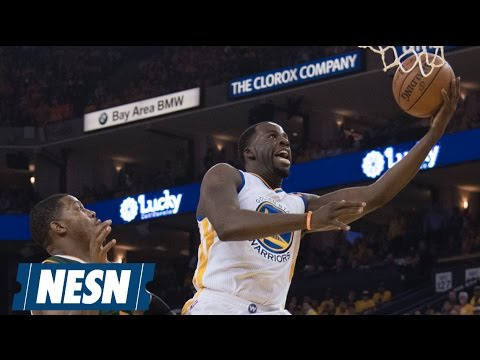 Golden State's Draymond Green calls Kelly Olynyk 'dirty,' then has triple-double: 2017 NBA Playoffs rewind