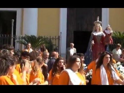 Cesa (CE) - Processione della Madonna del Rosario (05.10.14)