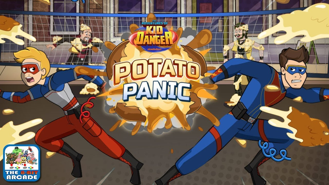 The Adventures Of Kid Danger Potato Panic A Messy Game