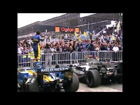 Fernando Alonso Wins the 2005 F1 World Title