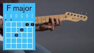 How to Play an F Major Open Chord | Guitar Lessons