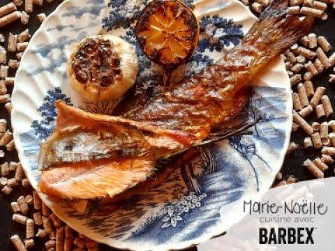 Recette BBQ Truite fumée BARBEX - granules de bois d'érable à sucre