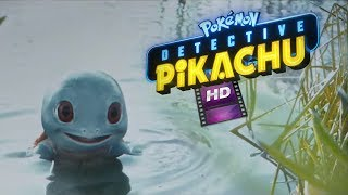 NEW Detective Pikachu trailer featuring Charmander, Squirtle and more in the wild!