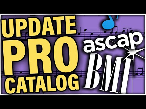 How to Add Music to ASCAP, BMI, or other Performing Rights Organizations (Tutorial)