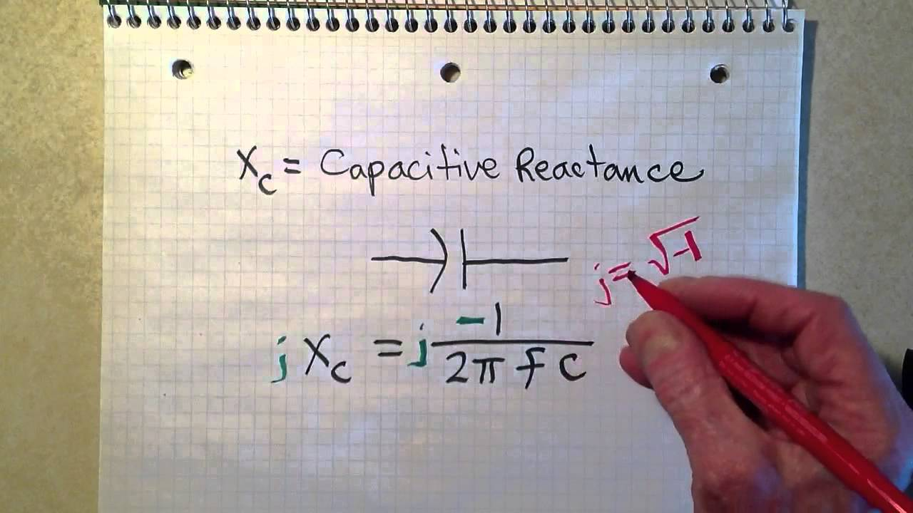 Series Resistor Capacitor Circuits Reactance And Impedance Capacitive