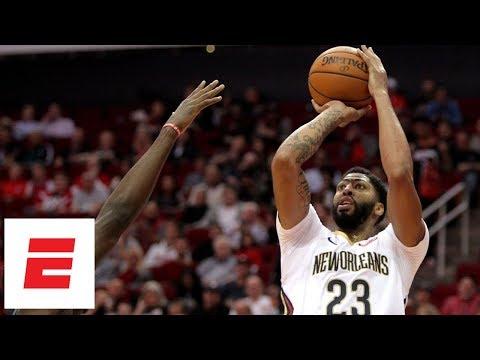 Pelicans dominate Rockets 131-112 (Anthony Davis 32 pts, 16 rebs, 8 ast) | NBA Highlights