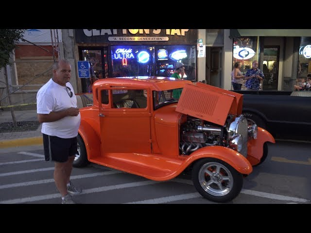 1929 Model A Ford - With Big Horsepower - Morris Cruise Nights