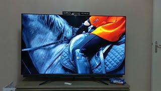 TCL 65C815 TV 4K QLED unboxing