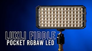 Luxli Fiddle Pocket RGBAW LED Light | Quick Look