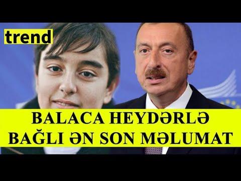Balaca Heydərlə Bağlı ən Son Məlumat / VƏZİYYƏTİ AĞIRDIR