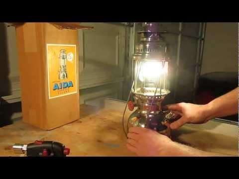 Aida 1500 Express Record Kerosene Pressure Lantern 500CP