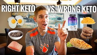 THE RIGHT VS. THE WRONG WAY TO DO KETO!