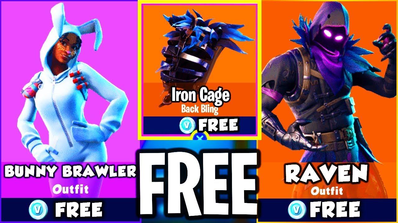 Unlock new raven bunny brawler skins on fortnite battle royale new skins on fortnite - Fortnite bunny brawler ...