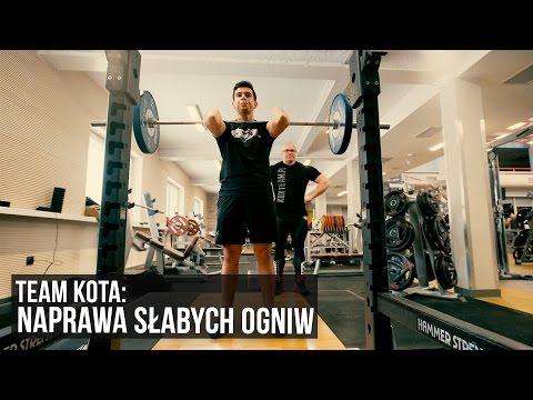 Team Kota: Bramker - redukcja 50kg, + 40kg w martwym - KFD
