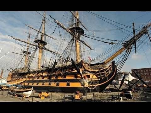 HMS Victory Portsmouth historic dock yard