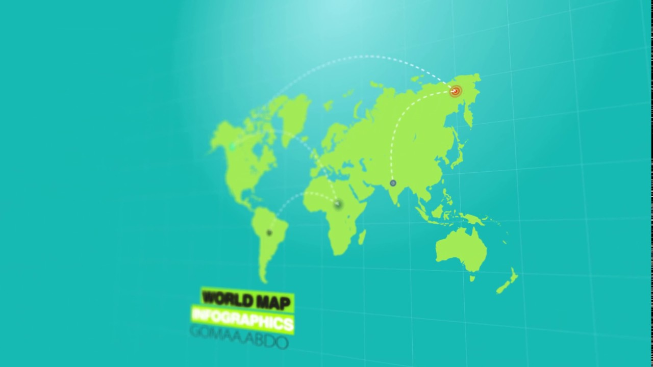 World map motion graphics after effects youtube world map motion graphics after effects gumiabroncs Image collections
