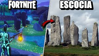 7 Fortnite PLACES THAT EXIST IN REAL LIFE ? That's the way these places are in real life!!!