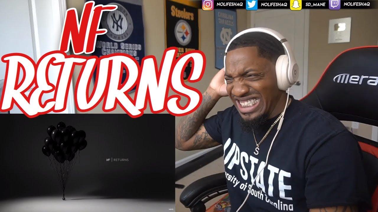 Download HE THREW SHOTS AT EM! NF - RETURNS (Reaction!!!)