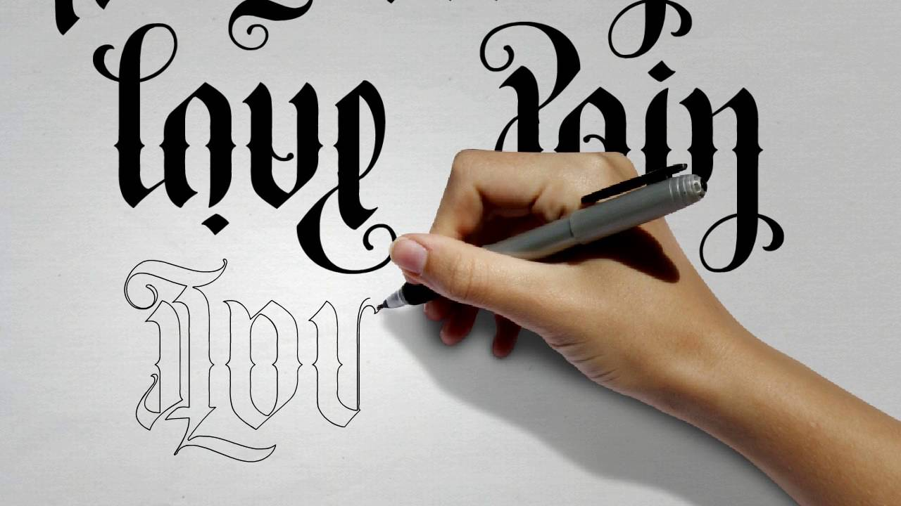 FlipScript Ambigram Tattoos