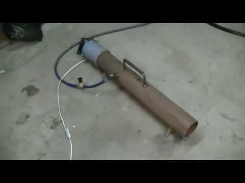 Газовая тепловая пушка своими руками