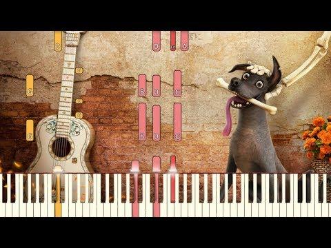 Un Poco Loco - Pixar&39;s COCO Piano Tutorial Synthesia