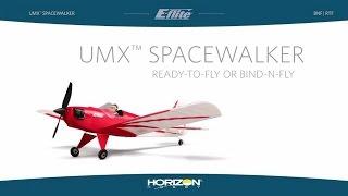 umx spacewalker rtf and bnf by e flite