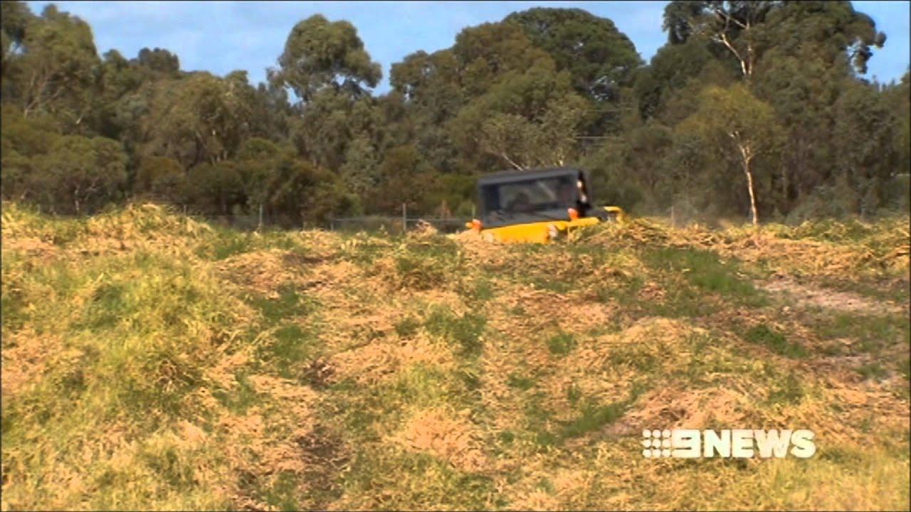 MtM Tomcar featured on Australia s Nine News channel