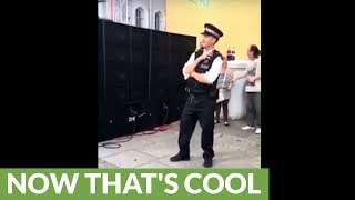 Police officer turns out to be undercover raver!