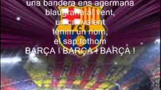 Barca Hymn With Lyrics!