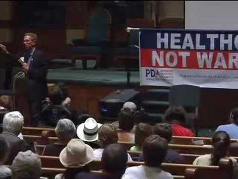 PDA/ Progressive Democrats of America/ Live from Denver 9/2008