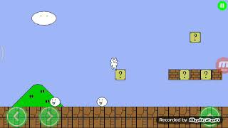 cat mario android stage 1, 2, 3. Completed
