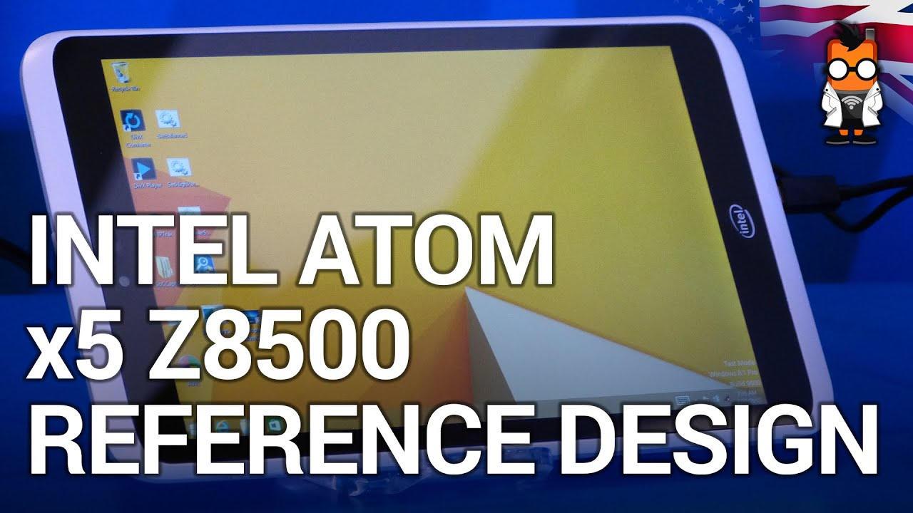 Intel Atom x5 Z8500 reference design Brief hands on at MWC
