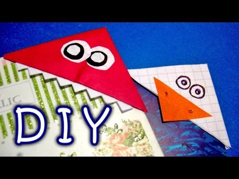 Diy handmade bookmarks how to make funny colorful paper for Diy bookmarks for guys