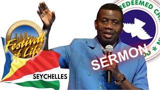 Pastor EA Adeboye Sermon  RCCG Seychelles FESTIVAL OF LIFE 2019