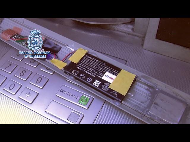 Desarticulada una banda de ladrones de cajeros automáticos