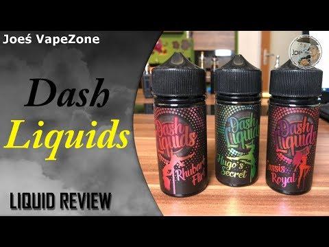 Dash Liquids - Preiswerte Liquids/ Aromen | REVIEW #JoesVapezone