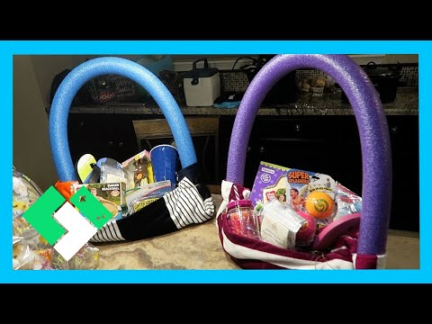 EASTER SUNDAY FUN! SUMMER THEMED EASTER BASKETS (Day 1842)