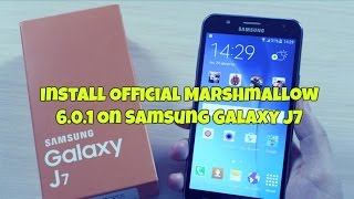 galaxy j7 after marshmallow update new