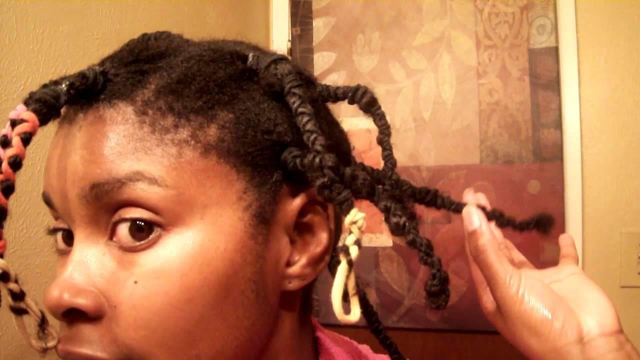 Image result for banding method on 4c hair