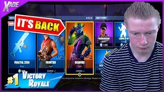 So the DEADFIRE skin came back.... *NOT OG* (Fortnite Battle Royale)