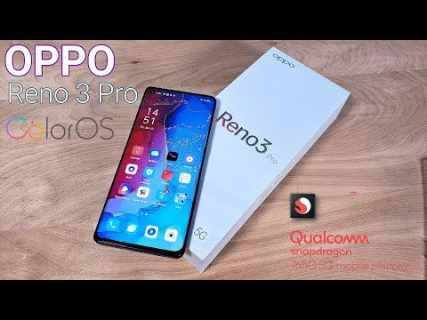 "OPPO Reno 3 Pro 5G - Unboxing & Initial Setup - SD765G - 8/128GB - 6.5"" Amoled - 48MP - 5G Network!"