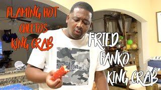 FLAMING HOT CHEETOS KING CRAB  PANKO FRIED KING CRAB
