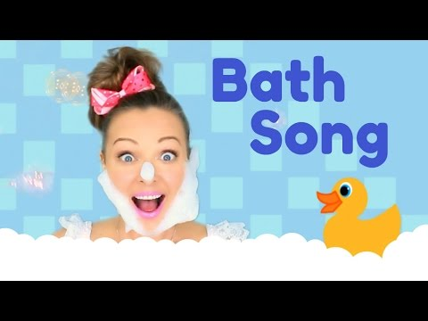 Bath Time Song | Nursery Rhymes for Children, Kids and Toddlers