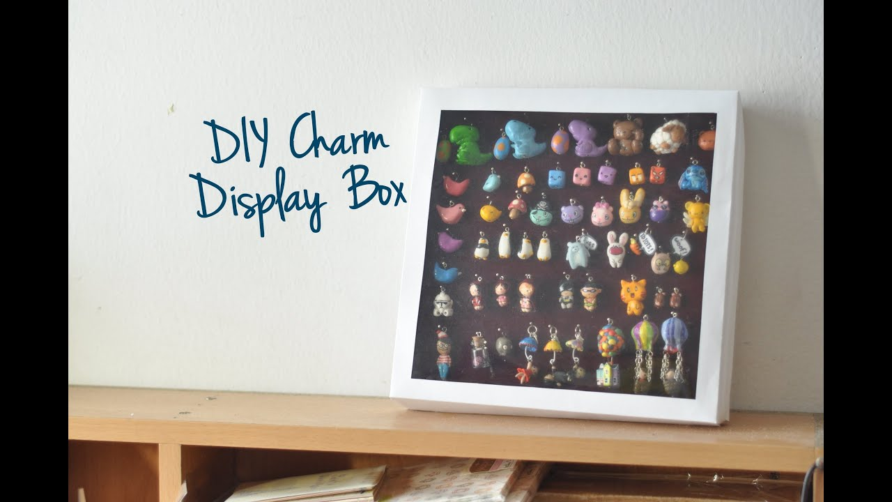 Diy charm display box dust proof youtube solutioingenieria Image collections