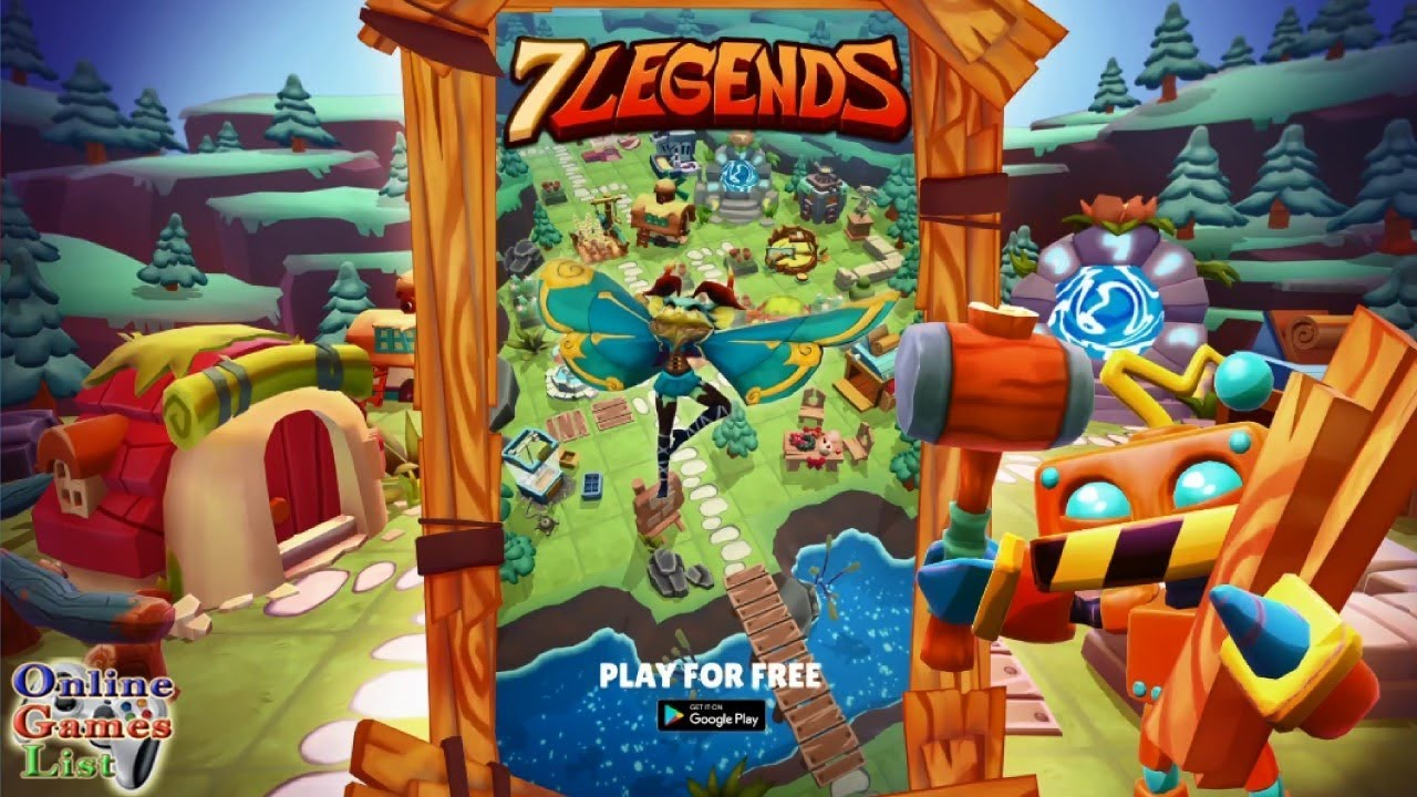 7 Legends free generator without human verification