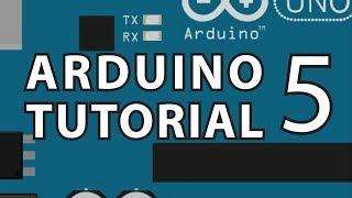 Arduino Tutorial 5 : Transistor Gates